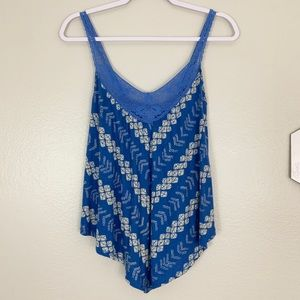 American Eagle Outfitters Tank With Laced neckline